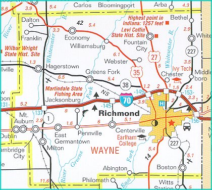 It S One Of 16 Wayne Counties In The U S All Named Directly Or Indirectly For Gen Mad Anthony Wayne 1745 1796 Hero Of The Revolutionary War